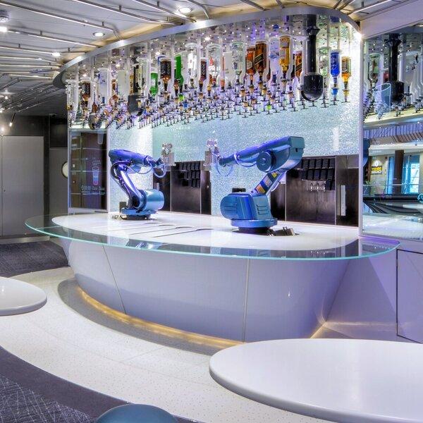 Anthem of the Seas Bionic Bar